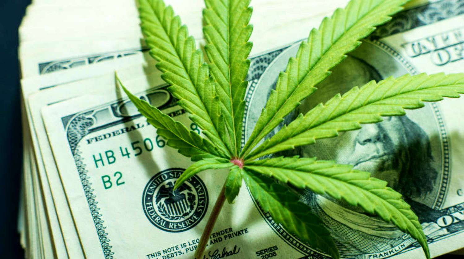 Feature | marijuana on top of money | Is Investing In Marijuana Stocks Beneficial? | Inside Your IRA | investing in marijuana