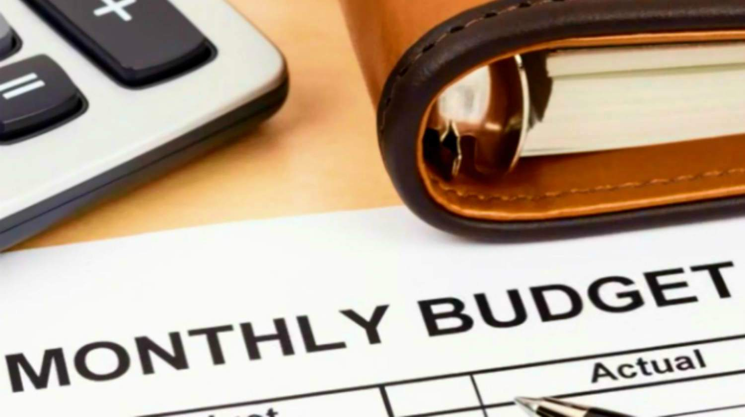 Feature | close up of monthly budget paper | Goal Monthly Budget For Standard Retirement | Inside Your IRA | budget for retirement