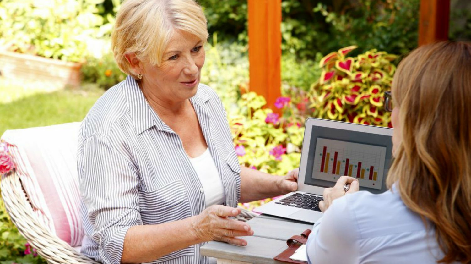 Featured | senior woman consulting about investments | Best Investments For Retirement | Inside Your IRA