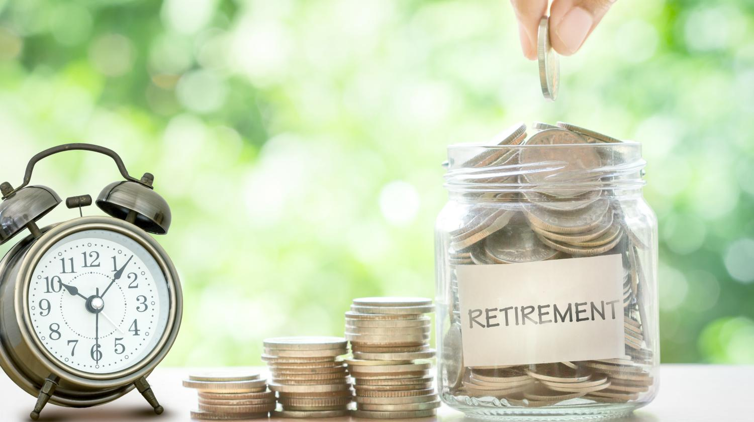 Feature | money jar and clock | Roth IRA Contribution Cheat Sheet | Inside Your IRA | roth ira contribution